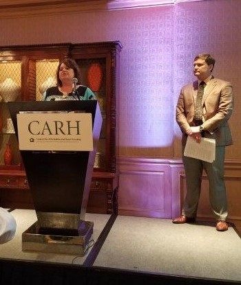 Gem Property Management - CARH National Site Manager of the Year Award, Carla Hutto